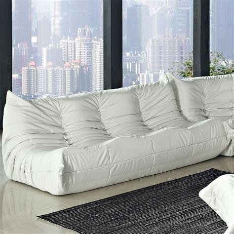white vinyl sectional sofa waverunner white vinyl sofa from renegade eei 947