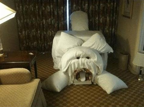 Hotel Room Pranks To Leave For The Maids (8 Pics