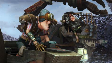astro boy   junkyard pirates  backdrops