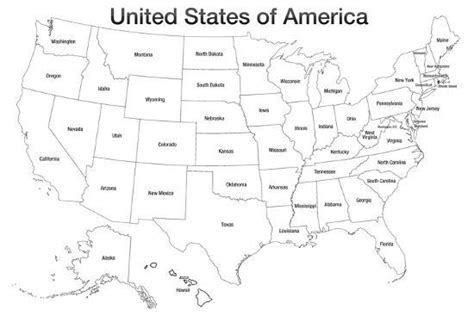 united states  america map usa coloring prints