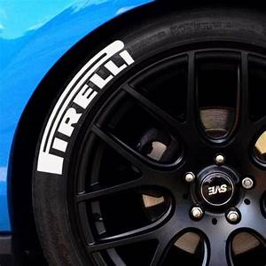 pirelli pzero tire lettering set of 4 tire stickers With japanese tire lettering
