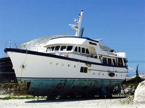 Stern Boat Type by 1964 Used Feadship Classic Canoe Stern Motor Yacht For