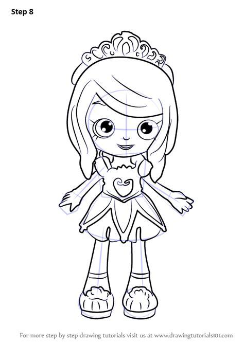 learn   draw tiara sparkles  shoppies shoppies