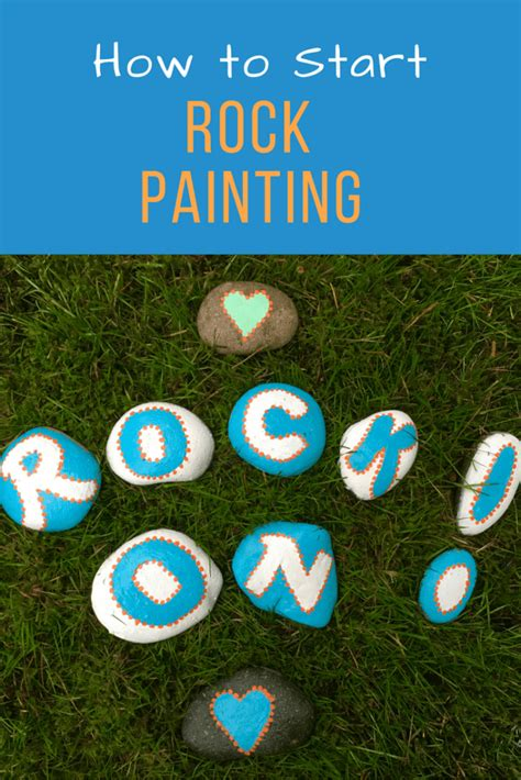 Rock Painting Ideas  How To Get Started  Montana Happy