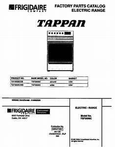 Looking For Tappan Model Tef350scdb Electric Range Repair