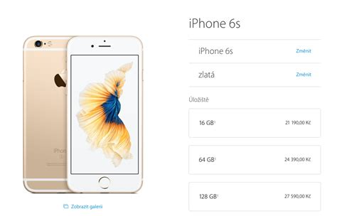 iphone 6 cena apple začal ofici 225 lně prod 225 vat iphone 6s a iphone 6s plus