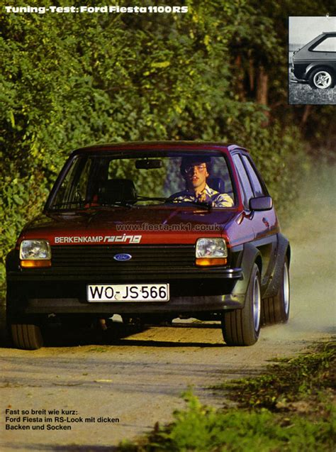ford fiesta mk magazine articles de sport auto road