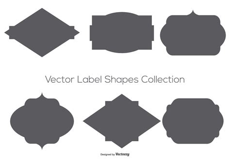 We upload amazing new content everyday! Vector Label Shapes Collection - Download Free Vector Art ...