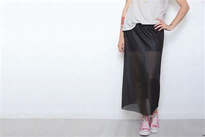 Skirt Sheer Mini Wear Diy Skirts Pencil
