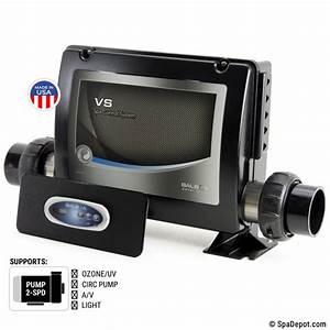 Balboa U00ae Vs500z Hot Tub Digital Control Kit W  Spa Topside