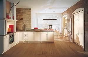 Holzdielen In Der Küche : raffiniert integrierte country k che ~ Markanthonyermac.com Haus und Dekorationen