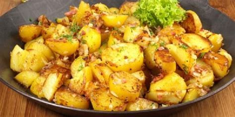 pommes de terre sautées à l 39 ail aux fourneaux