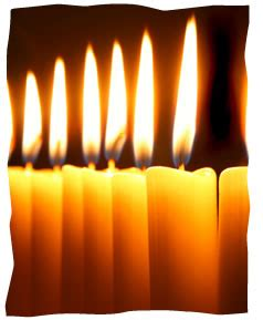 chabad candle lighting three grandmothers and their shabbat candles reflections