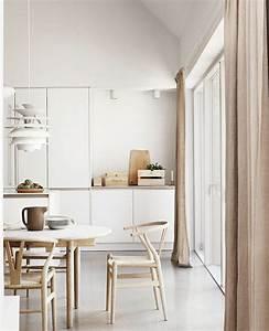 Chaise scandinave 47 modeles emblematiques for Idee deco cuisine avec meuble scandinave bois et blanc