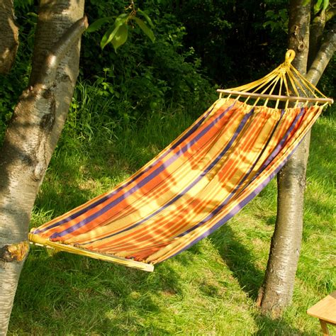 Hammock Outdoor by Outdoor Garden Canvas Hammock Swinging Hanging Cing