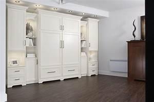 Meuble Lit Escamotable : lit escamotable avec rangement wall bed with storage classique style lit meuble ~ Farleysfitness.com Idées de Décoration