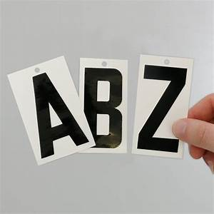 convenient kits of reflective magnetic or vinyl die cut With vinyl magnetic letters