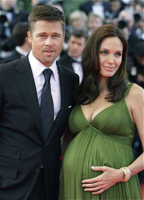 First Pictures Of Jolie Pitt Twins Sold To People Magazine