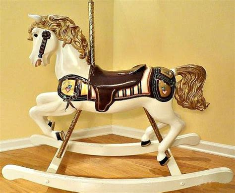 woodwork wood rocking horses  plans