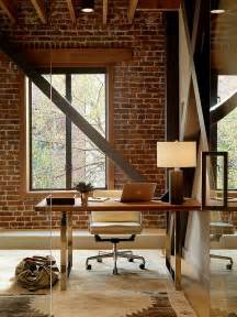 home interiors wall trendy textural 25 home offices with brick walls