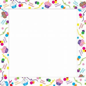 Birthday Clip Art Borders #168407