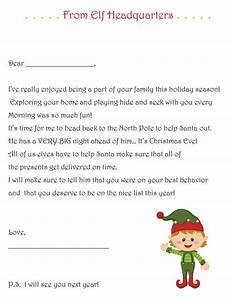 Elf on the shelf goodbye letter pdf elf on the shelf for Goodbye letter from elf on the shelf template