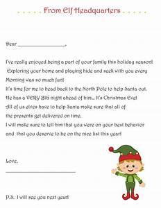 Elf on the shelf goodbye letter pdf elf on the shelf for Goodbye letter from elf on the shelf template