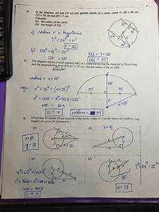 Grade 11  Circles Worksheets  Answer Keys   U2013 Ateneo High