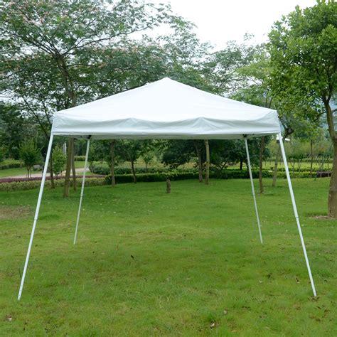Folding Gazebo Ez Pop Up Canopy Wedding Tent Outdoor Folding Patio