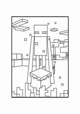 Minecraft Enderman Coloring Pages Drawing Printable Mincraft Boys Printables 1295 1832 Paintingvalley Popular Open sketch template