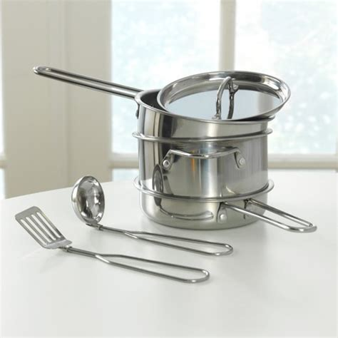 kidkraft metal kitchen cookware and accessories kidkraft metal kitchen cookware and accessories target 9031