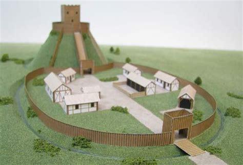 build  model motte  bailey castle history