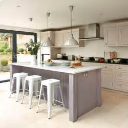 island units for kitchens take a look at this bespoke budget kitchen housetohome co uk
