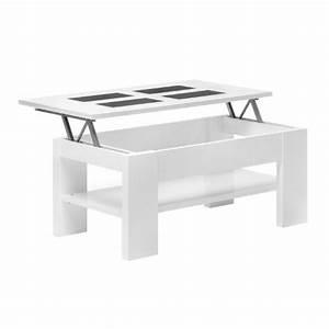 Table Basse Bois Pas Cher : table basse escamotable pas cher le bois chez vous ~ Carolinahurricanesstore.com Idées de Décoration