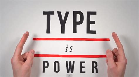 the history of typography explained in animated video designtaxi com