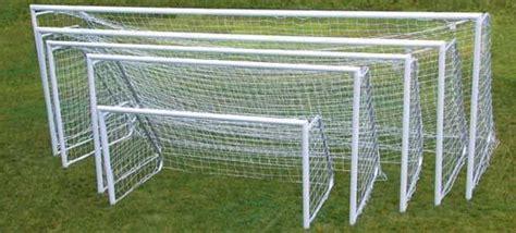 official   aluminum soccer goal pair