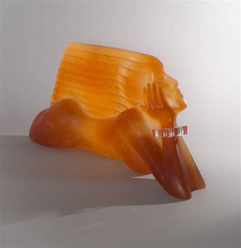 daum dan daley le vent sculpture en p 226 te de verre