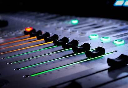 Studio Wallpapers Recording Mixer музыкальный Mixing Guitar