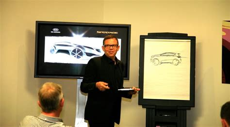 win  signed peter schreyer kia design sketch car magazine