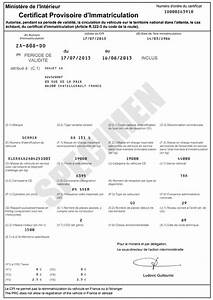 Code Certificat D Immatriculation : carte grise qu 39 est ce que le certificat provisoire d 39 immatriculation cpi service ~ Maxctalentgroup.com Avis de Voitures