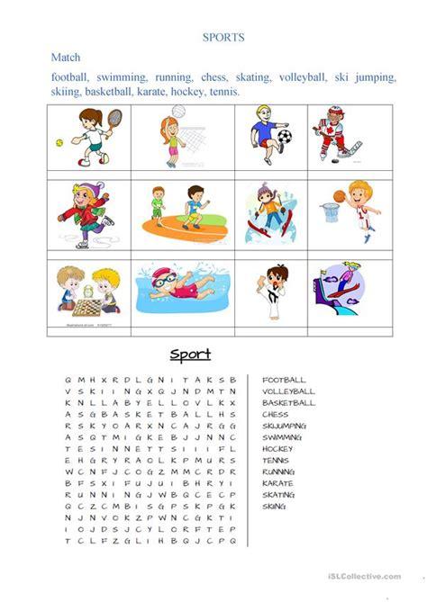 sports worksheet free esl printable worksheets made by teachers