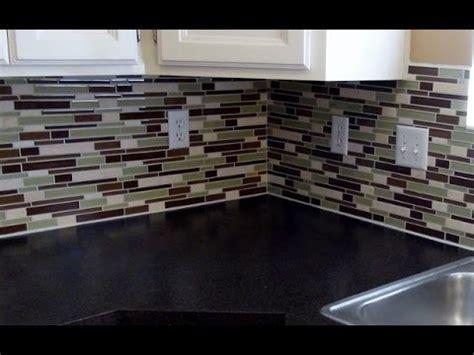 how to install glass tile kitchen backsplash how to install a glass tile backsplash diy tips