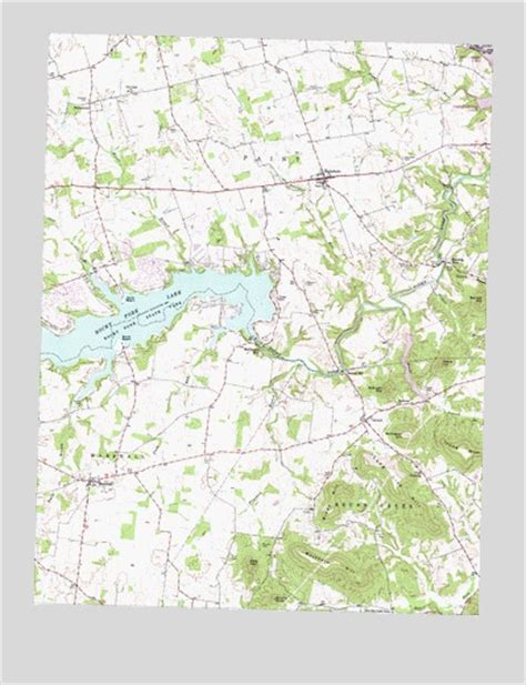 Sinking Springs Ohio Post Office by Rainsboro Oh Topographic Map Topoquest