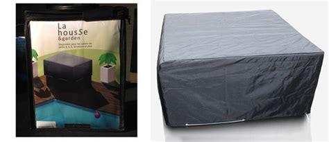 housse protection carre pour table et salon de jardin 152 x 152 cm