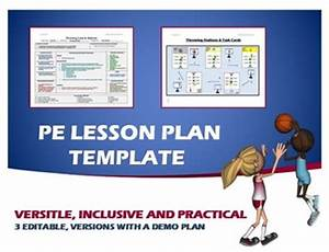 Physical Education Lesson Plan Template by Cap'n Pete's ...