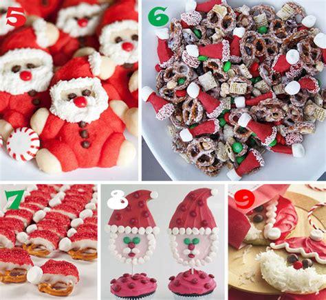 christmas snacks ideas easy santa cookies and treat ideas wt the celebration shoppe