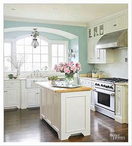 22 small kitchens with white cabinets ideas home and With kitchen colors with white cabinets with house wall art