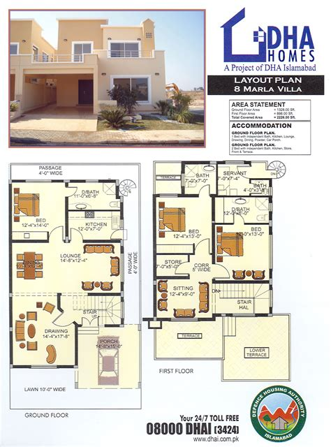 home layouts 5 marla house floor plans home deco plans