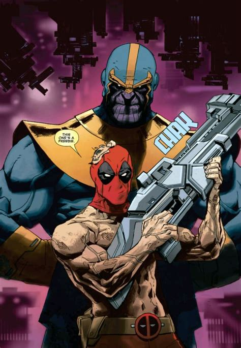 Deadpool Vs Thanos #1 Review An Unusual Love Triangle