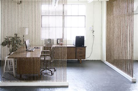 Creative Rope Divider Wall  Diy For Life